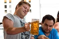 Pivní festiválek v Litomyšli.