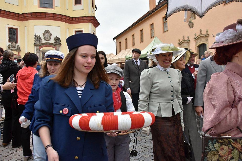 V sobotu se do Litomyšle opět sjeli lidé z celého regionu na slavnostní zahájení lázeňské sezony.