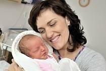 AGÁTA KREJČÍ. Narodila se 2. dubna Václavě a Leošovi z Litomyšle. Vážila 3,42 kilogramu. Má brášku Štěpána.