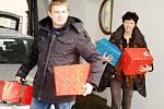 Ukrajinské děti potěší dárky ze Svitav.
