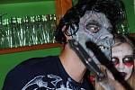 Halloween v litomyšlském baru.