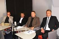 Kandidáti u kulatého stolu ve Svitavách rozebírali témata, které město trápí.