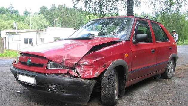 Nehoda v Poličce