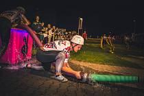 Noční závod v Oldříši u Poličky