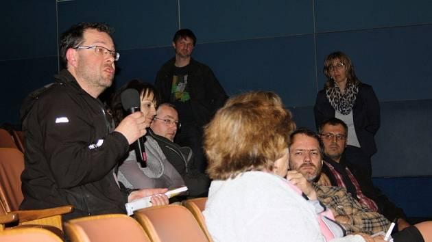 Debata o RLP v litomyšlském kině.