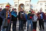 Fanclub Sparty se vydal na zápas do Milána