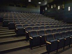 Opravené kino v Litomyšli.