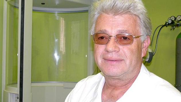 Milan Kučera ze svitavské nemocnice.