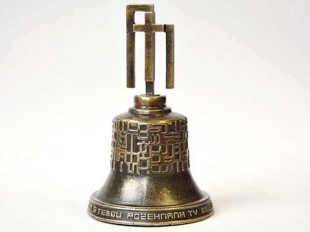 Replika zvonu Panna Marie.