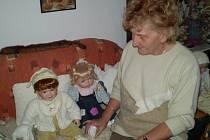Sbírka Věry Králíčkové ze Svitav čítá téměř tři sta panenek