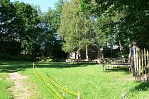 Lánská zahrada vznikla v době, kdy nebylo v těsné blízkosti sídliště. O prázdninách se tu konají diskotéky.