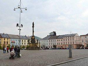 Náměstí v Moravské Třebové.