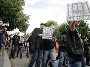 Přes dvě stovky nacionálních radikálů se sešlo v sobotu ve Svitavách.