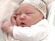ELIŠKA HŘEBÍČKOVÁ. Spatřila světlo světa 17. října v 9.20 hodin. Vážila 3,55 kilogramu a měřila 52 centimetrů. S rodiči Ivetou a Milanem a čtyřletou sestřičkou Viktorkou bydlí v Janově u Litomyšle.