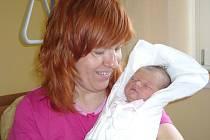 KORNELIE CHRÁSKOVÁ. Holčička se narodila 16. ledna v 8.04 hodin v litomyšlské porodnici. Po narození  vážila 3,1 kilogramu a měřila 48 centimetrů.  S rodiči Lucií a Danielem a sestřičkou Leontýnkou bude doma v České  Třebové.