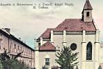 Tak klášter vypadal v minulosti. Františkánkám budovu sebrali komunisté.