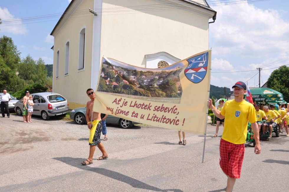 O víkendu vyvrcholilo setkání dvaašedesáti Lhot ve Vranové Lhotě na Jevíčsku.