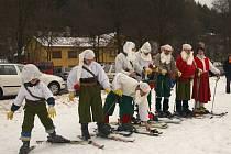 Dětský karneval uspořádal 24. ledna 2009 Lyžařský klub Bystré-Hamry.