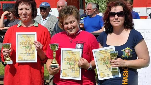 Dobrovolní hasiči se utkali na okrskové soutěži v Lánech.