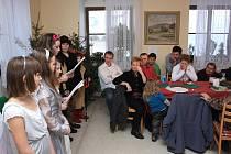 Vánoční setkání ve Vranové Lhotě.