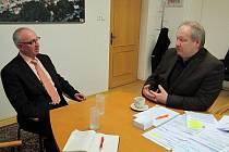 Poslanec Václav Neubauer chce pravidelně vyjíždět do regionu a setkávat se nejen se starosty. V minulých dnech navštívil Svitavy, Moravskou Třebovou, Litomyšl a další obce.