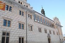 Zámek v Litomyšli je zapsán na seznamu památek UNESCO.