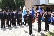 Sbor dobrovolných hasičů ve Vranové Lhotě oslavil o víkendu 130 let od založení.