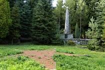 Hřbitov sovětských zajatců nedaleko Vísky u Jevíčka.