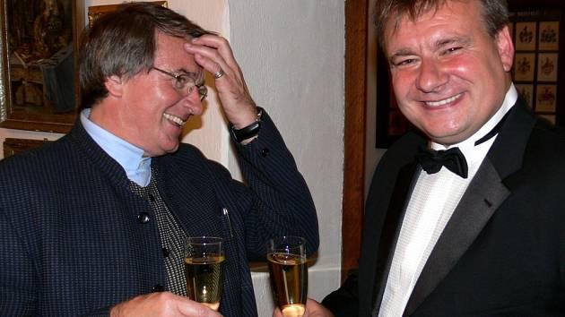 Vlastimil Harapes a Miroslav Popelka.
