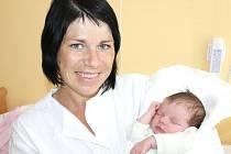 NATÁLIE CELÁ. Holčička přišla na svět 21. září v 9.48 hodin ve svitavské porodnici. Vážila 3,3 kilogramu a měřila 51 centimetrů. S rodiči Jaromírou a Petrem a dvouletým bráškou  Matějem bude doma v Lukové.
