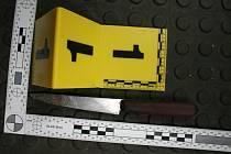 Na místě zajistili kriminalisté nůž