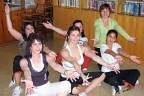 Do projektu Hejbejte se s Hankou Kynychovou se zapojila i děvčata z Dětského domova v Poličce.