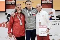 Ivo Strnad na mistrovství Evropy v Dánsku.