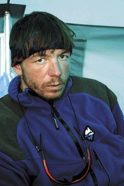 Roman Langr při loňské expedici na napálskou Dhaulagiri (8167m), sedmou nejvyšší horu světě.