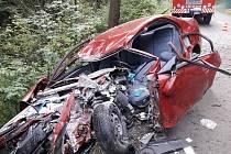 Vážná nehoda se stala ve středu odpoledne v Budislavi.