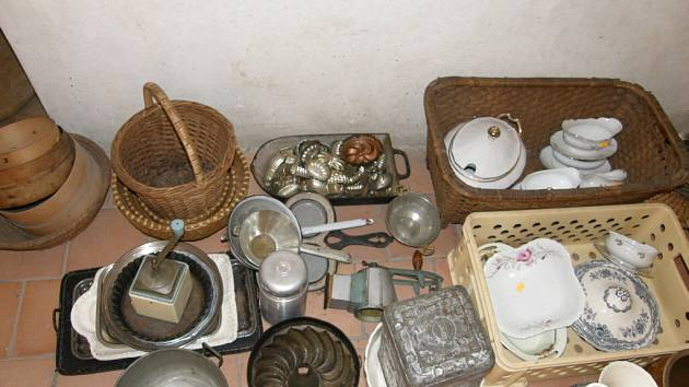 Kuchyně na Svojanově.