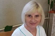 Vrchní sestra Ludmila Komoňová z Nemocnice následné péče v Moravské Třebové.