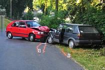 V obci Hradec nad Svitavou došlo ve středu ráno k čelnímu střetu dvou vozidel. 32letý řidič Škody Felicia předjížděl a přehlédl v protisměru Volkswagen Golf, došlo ke srážce. Řidič golfu utrpěl lehké zranění. Škodu policisté vyčíslili na 65 tisíc korun.