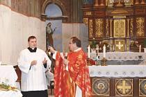 Kostel sv. Mikuláše v Pohledech.