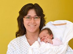 KATEŘINA BARÁKOVÁ. Narodila se 20. března Kateřině a Martinovi ze Svitav. Měřila 49 centimetrů a vážila 3,33 kilogramu. Má bráchu Jiříka.
