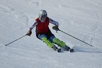Ideální podmínky pro lyžování si o víkendu užívali milovníci tohoto zimního sportu v Hamrech u Bystrého.