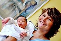 MATĚJ VOLESKÝ. Manželé Markéta a Mirko se od 28. srpna radují z druhého syna. Matěj se narodil v 15.38 hodin v Litomyšli. Vážil 3,5 kilogramu a měřil 52 centimetrů. Se starším bráškou Mirkem bude vyrůstat v České Třebové.