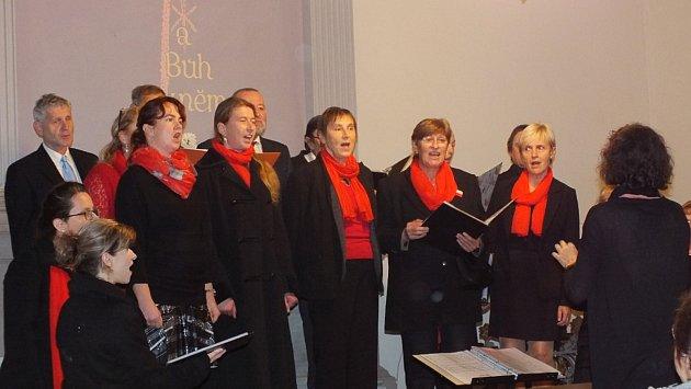 Koncert vMoravské Chrastové.