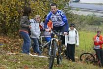 Desátým a posledním zastavením cyklistického seriálu Cykloman 2009 byl závod do strmého vrchu, který představovala trať o délce 200 metrů s převýšením 48 metrů.