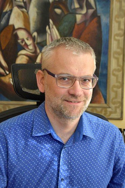 Starosta Litomyšle Daniel Brýdl.