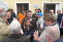 Partneři z holandského Vlaardingu završili návštěvu Moravské Třebové v Biskupicích.