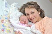 BOHDANA JUNKOVÁ bude doma s rodiči Martinou a Pavlem ve Strakově u Litomyšle. S váhou 3,16 kilogramu se narodila 10. dubna ve 23.19 hodin v Ústí nad Orlicí. Foto: Michal Horák