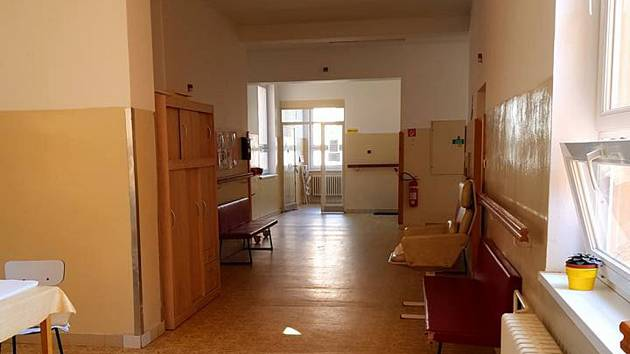 Prostory současné nemocnice následné péče v Moravské Třebové.