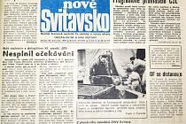 Svitavy, 1989: Jediný cíl – svobodné volby