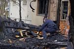 V Borové shořekla truhlárna, škoda přesáhla milion korun.